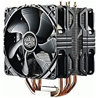 Cooler Master Hyper 212X CPU Cooler with Dual 120mm PWM Fan (Black)