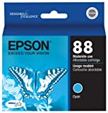 Epson 88 Series DURABrite Ultra Cyan Ink Cartridge (T088220)