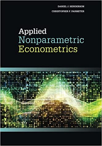 Applied Nonparametric Econometrics