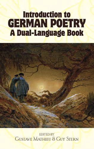 Introduction to German Poetry A Dual Language Book Dover Dual Language German
