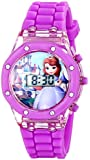 Disney Kids' SOF1497 Sofia the First Digital Purple Watch with Rubber Band