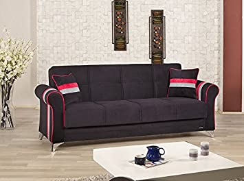 Metro Life Sofa Bed | Sarp Black