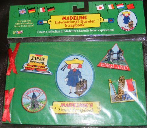 Madeline Doll International Traveler Scrapbook
