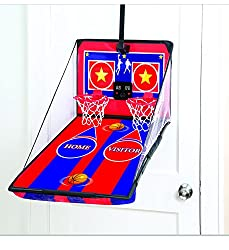 Electronic Over The Door Double Basketball Game
