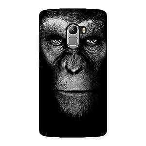 Impressive Chimp King Black Back Case Cover for Lenovo K4 Note