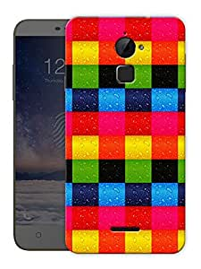 "Colorful Blocks Printed Designer Mobile Back Cover For ""Coolpad Note 3 Lite"" By Humor Gang (3D, Matte Finish, Premium Quality, Protective Snap On Slim Hard Phone Case, Multi Color)"