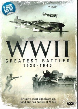 WWII Greatest Battles (3-Disc Box Set) [DVD]