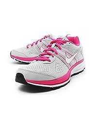 Nike Girl`s Air Pegasus+ 29 Running Shoes Pure Platinum/Desert Pink 1