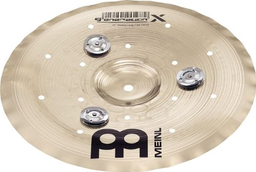 Meinl Cymbals GX-12FCH-J Generation-X 12-Inch Filter China Cymbal with Jingles