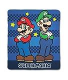 Character World Nintendo Mario Race Fleece Blanket