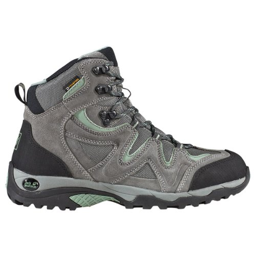 Jack Wolfskin Womens RUGGED HIKER TEXAPORE WOMEN Trekking & Hiking Shoes Gray Grau (opal green) Size: 41