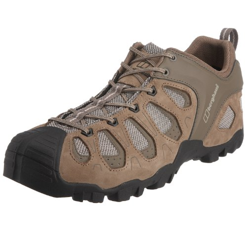 Berghaus Men's Pro Rush Low Hiking Shoe LT Walnut/Brown 80048 LS1 11 UK