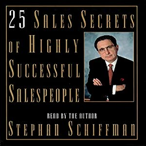 25 Sales Secrets of Highly Successful Salespeople Audiobook