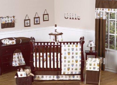 Sweet Jojo Designs Night Owl Crib Bedding