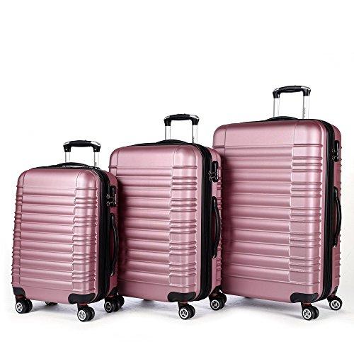 Zwilling ruote 3 pezzi 2088 Valigetta da viaggio kofferset beibye in XL-L-M in 14 colori
