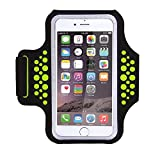 Triomph Armband for iPhone 8 Plus, 7 Plus, 6 Plus, 6s Plus, 6, 6s iPod Galaxy S5, S6, S6 Edge, S7 Edge Plus with Key Cards Money Holder, for Running, Sports, Jogging, Hiking, Biking 5.5''