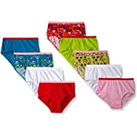 9-Pk. Fruit of the Loom Little Girls Brief