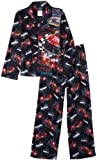 AME Sleepwear Boys 8-20 Nascar Speedway Coat Pajama