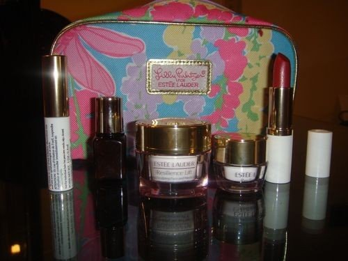 Estee Lauder 2013 Spring Collection 10 pcs Skin Care and Makeup Gift