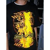鏡音リン 鏡音リングラフィックTシャツ ブラック サイズ:L