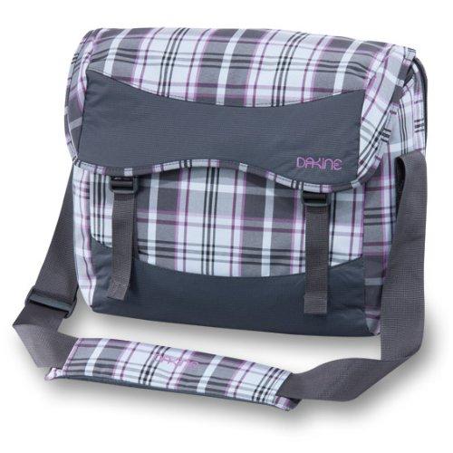 DAKINE Girls Laptop Messenger Bag SM (Plush Plaid / Charcoal)
