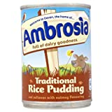Ambrosia Traditional Rice Pudding Sultanas &Nutmeg 6x425g