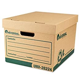 UNV28224 - Recycled Record Storage Box
