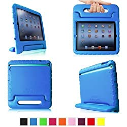 Fintie (Royal Blue) Casebot Kiddie Series Light Weight Shock Proof Handle Case for iPad 4th Generation with Retina...
