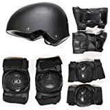 Skate Protection Set - Helmet Elbow Knee Pads for Skateboard Scooter BMX