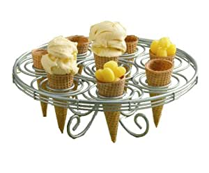 Ice Cream Cone Holder and Cake Stand