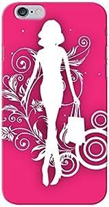 KnapCase Shopping Girl Designer 3D Printed Case Cover For Apple iPhone 6