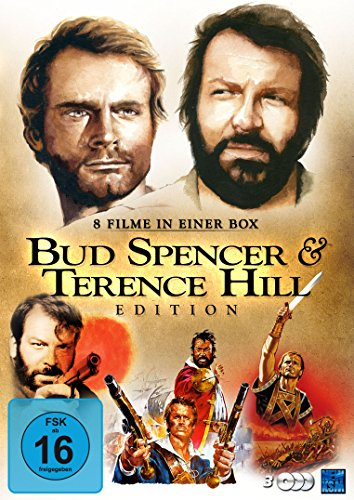 Bud Spencer & Terence Hill Edition [8 Filme im 3 Disc Set]