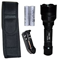 Nitebeam 900 - High Power 900 Lumen Flashlight Complete Set