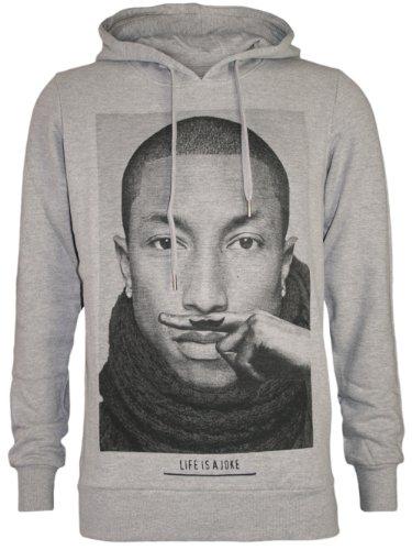 ELEVEN PARIS Designer Men Hoodie Jacket - PHARELL WILLIAMS -XL