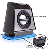 GOgroove BassPULSE 2MX USB Powered 2.0 Channel Computer Speakers for Apple Macbook Pro Air / Mac Mini / iMac / Mac Pro Laptop & Desktop series & more! ** Includes Mousepad **