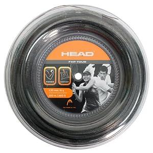 Buy FXP Tour 16G Liquid Black Reel Tennis String by HEAD