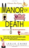 Manor of Death (Domestic Bliss Mysteries)