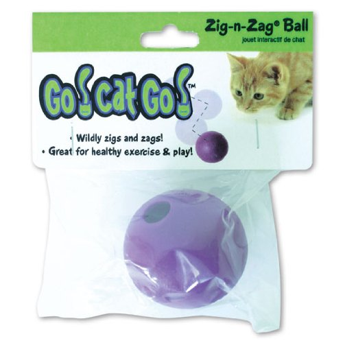 Our Pets CT-10170 Go Cat Go Zig-N-Zag Ball