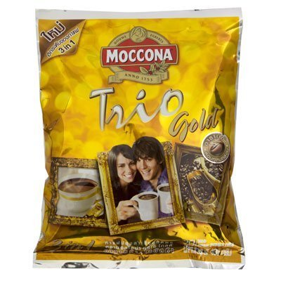 Moccona Trio Instant Coffee Mixed Gold 20g. Pack 20sachets