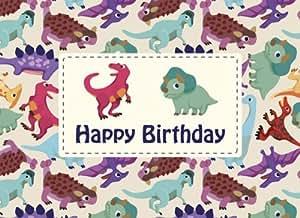Greeting card - dinosaurs