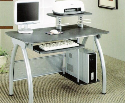 Buy Low Price Comfortable Modern Compact Computer Workstation Storage Desk Return – Coaster 800442 (B005LWT3OG)