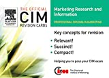 img - for CIM Revision Cards 05/06: Marketing Research and Information (Official CIM Revision Cards) book / textbook / text book