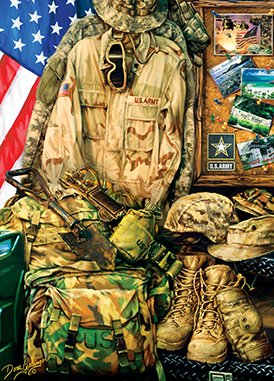 Masterpieces-71512-Dona-Gelsinger-Army-Strong-Puzzle-1000-Pieces