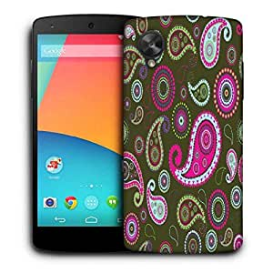 Snoogg Multicolor Pattern Printed Protective Phone Back Case Cover For LG Google Nexus 5