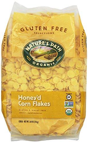 Nature's Path Organic Honey'd Corn Flakes Cereal, 26.4-Ounce Bags (Pack of 6) (Organic Corn Flakes Cereal compare prices)