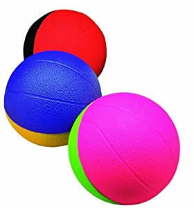 """Poof Slinky Pro Mini Basketball 4""""(One Individual Item) With Multi-Colored Soft Foam Exterior Jouets, Jeux, Enfant, Peu, Nourrisson"""