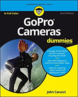 Book Cover: GoPro Cameras For Dummies