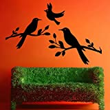 Decal Style Birds Wall Sticker Small Size-18*12 Inch