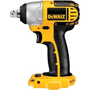 DEWALT Bare-Tool DC820B 1/2-Inch 18-Volt Cordless Impact Wrench (Tool Only, No Battery) from DEWALT