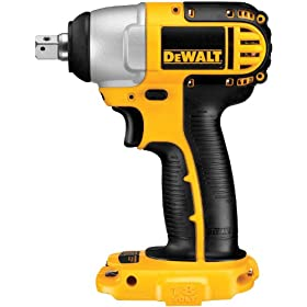 Bare-Tool DEWALT DC820B  1/2-Inch 18-Volt Cordless Impact Wrench (Tool Only, No Battery)